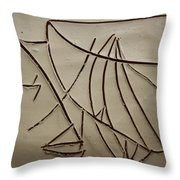 Honour - Tile Throw Pillow