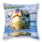 Honu 3.20.15 Throw Pillow