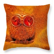 Hoo Me Throw Pillow