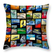 Hood Ornament Art -10 Throw Pillow