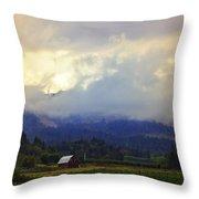 Hood River - Season Of Beauty Throw Pillow