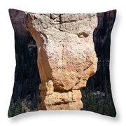 Hoodoo In Bryce Canyon Throw Pillow