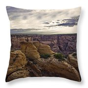 Hoodoos Two Throw Pillow