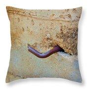 Hook  Throw Pillow