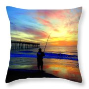 Hookedup Color Explosion 31316 Throw Pillow