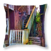 Hookipa Stairway Throw Pillow