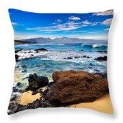 Hookipa Sunrise #3 Throw Pillow