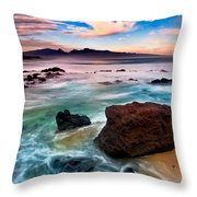 Hookipa Sunrise  Throw Pillow