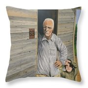 Hooper Ranch #63 Throw Pillow by Kevin Daly