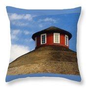 Hoosier Cupola Throw Pillow