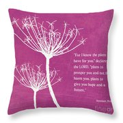 Hope And Future Throw Pillow