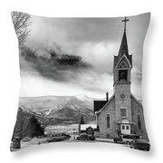Hope Evangelical Lutheran Church Throw Pillow