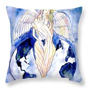 Hope For A Broken World Throw Pillow