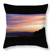 Hope For Morning Throw Pillow