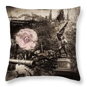 Hope In A More Violent Time. Throw Pillow