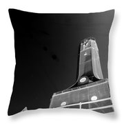 Hope In Darkness Throw Pillow