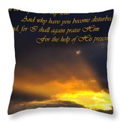 Hope In God Throw Pillow
