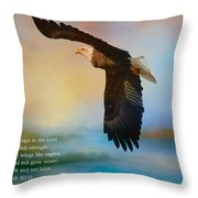 Hope In The Lord Throw Pillow