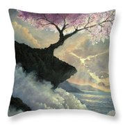 Hope Inclines Throw Pillow by Rosario Piazza