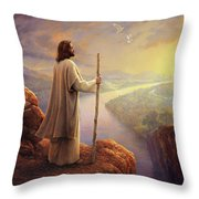 Hope On The Horizon Throw Pillow by Greg Olsen