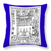 Hope On The Table Throw Pillow