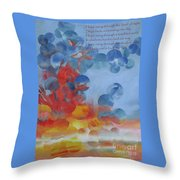 Hope Rising - With Poem Throw Pillow