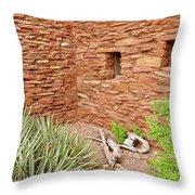 Hopi House Garden Throw Pillow