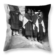 Hopi Maidens, 1906 Throw Pillow by Granger