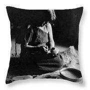 Hopi Potter, C1906 Throw Pillow by Granger