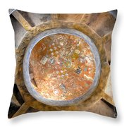 Hopi Spirit Circle Throw Pillow