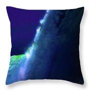 Horeseshoe Falls Abstract Throw Pillow