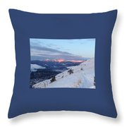 Horizon Light Throw Pillow