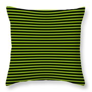 Horizontal Black Outside Stripes 30-p0169 Throw Pillow