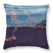 Horizontal Light Throw Pillow