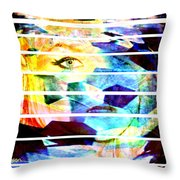 Horizontal View Throw Pillow