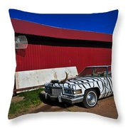 Horn Dog Throw Pillow