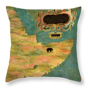 Horn Of Africa, Ethiopia And Somalia Throw Pillow