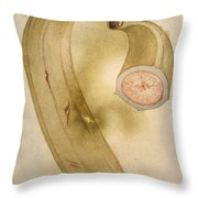 Horn Plantain, 1585 Throw Pillow