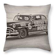 Hornet On Daytona Beach Throw Pillow