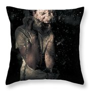 Horror Throw Pillow