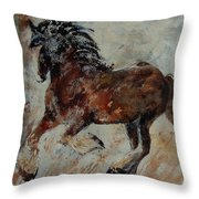 Horse 561 Throw Pillow