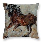 Horse 561 Throw Pillow