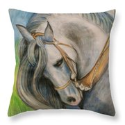 Horse. Throw Pillow