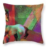 Horse Dreams Throw Pillow