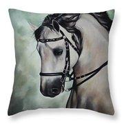 Horse N.1 Throw Pillow