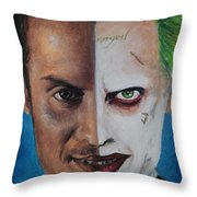 Moriarty And The Joker Throw Pillow