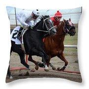 Horse Power 10 Throw Pillow