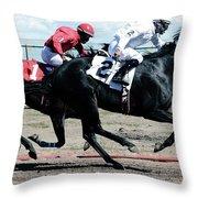 Horse Power 12 Throw Pillow