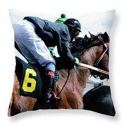 Horse Power 14 Throw Pillow