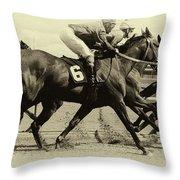 Horse Power 15 Throw Pillow